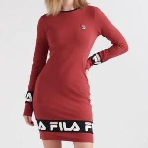 Women's Fila Luna Dress Red